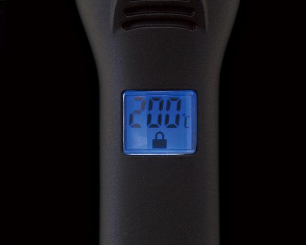 ホリスティックキュアストレートアイロンPRO,8段階温度調節機能,デジタルモニター