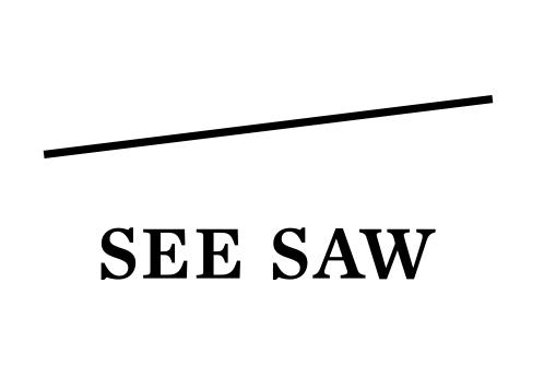seesawシーソールベル,see/saw