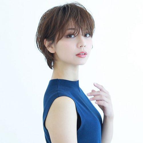 筒井愛美,ショートカットモデル,大人ショートヘア